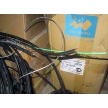 Оптический кабель Б/У для внешней прокладки (с металлическим тросом), оптокабель БУ