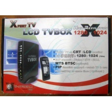 Внешний TV tuner KWorld V-Stream Xpert TV LCD TV BOX VS-TV1531R (без БП!)