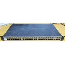 Управляемый коммутатор D-link DES-1210-52 48 port 10/100Mbit + 4 port 1Gbit + 2 port SFP металлический корпус