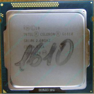 Процессор Intel Celeron G1610 (2x2.6GHz /L3 2048kb) SR10K s.1155
