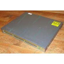 Коммутатор Cisco Catalyst WS-C3750-48PS-S 48 port 100Mbit металлический корпус