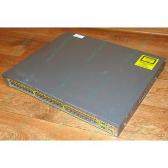Б/У коммутатор Cisco Catalyst WS-C3750-48PS-S 48 port 100Mbit