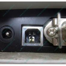 Термопринтер Zebra TLP 2844 (выломан USB разъём, COM и LPT на месте; без БП!)