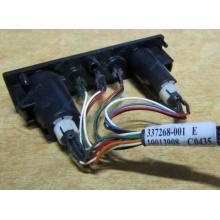HP 224998-001, кнопка включения питания HP 224998-001 с кабелем для сервера HP ML370 G4