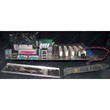 Материнская плата Asus P4PE (FireWire) с процессором Intel Pentium-4 2.4GHz s.478 и памятью 768Mb DDR1 Б/У
