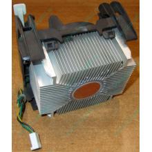 Кулер для процессоров socket 478 с медным сердечником внутри алюминиевого радиатора Б/У