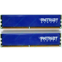 Память 1Gb (2x512Mb) DDR2 Patriot PSD251253381H pc4200 533MHz