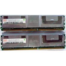 Серверная память 1024Mb (1Gb) DDR2 ECC FB Hynix PC2-5300F