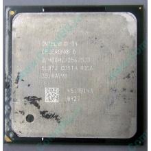 Процессор Intel Celeron D (2.4GHz /256kb /533MHz) SL87J s.478