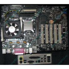 Материнская плата Intel D845PEBT2 (FireWire) с процессором Intel Pentium-4 2.4GHz s.478 и памятью 512Mb DDR1 Б/У