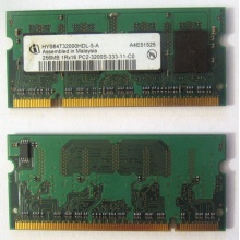 Модуль памяти для ноутбуков 256MB DDR2 SODIMM PC3200