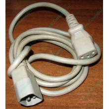 Кабель для UPS серый цвет, кабель для ИБП
