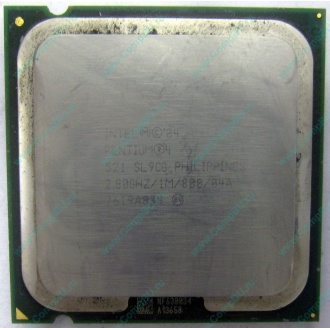 Процессор Intel Pentium-4 521 (2.8GHz /1Mb /800MHz /HT) SL9CG s.775