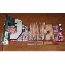 Видеокарта 128Mb nVidia GeForce FX5500 AGP (MSI TD128LF 8998)
