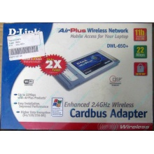 Wi-Fi адаптер D-Link AirPlus DWL-G650+ для ноутбука