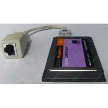 Сетевая карта для ноутбука 3COM Mehahertz 3CCFE574BT (PCMCIA)